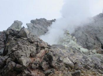 上高地バカが、活火山に!